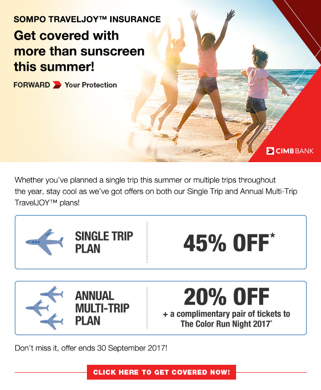 Group Travel Insurance Promotion